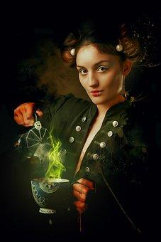 Fantasy, Gothic, Dark, Portrait, Fantasy Portrait