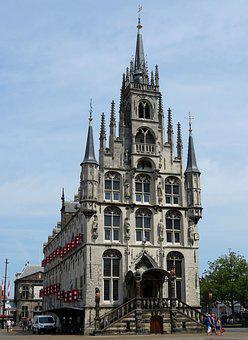 Netherlands, Gouda, The Town Hall