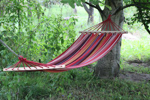 Hammock, Relaxation, Swing, Holiday, Summer, Garden