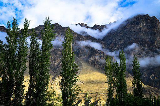 Hunza, Landscape, Mountains, Cones, Nature, Rocks
