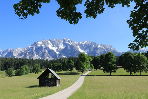 Mountains, Mountain Landscape, Alpine, View