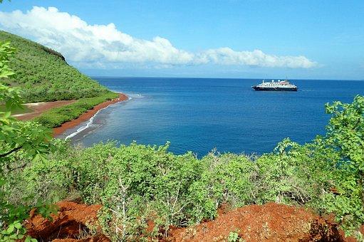 Galapagos, Rábida, Galapagos Islands, Island