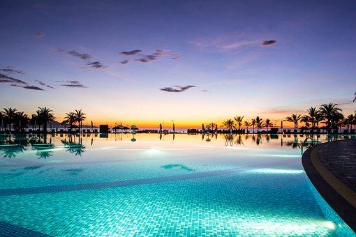 Sea, Landscape, Swimming Pool, South Hoi An
