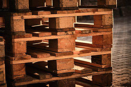 Pallets, Euro Pallet, Stacked, Transport, Stack