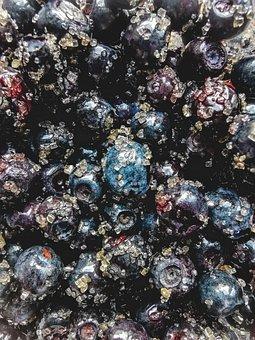 Blueberry, Texture, Fruit, Sweet, Dessert, Vitamin