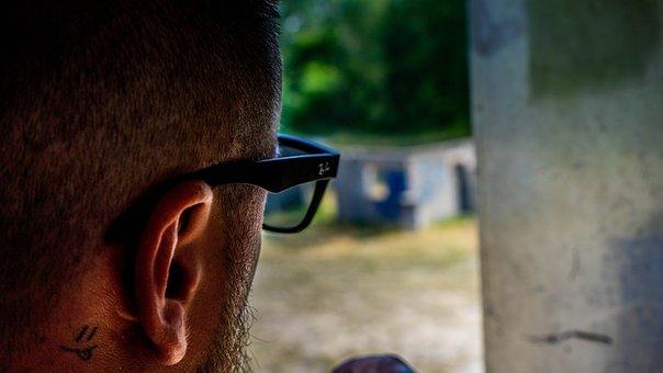 Man, Window, Think, Within, Portrait, Person