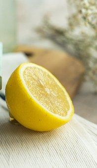 Lemon, Citrus, Fruit, Fresh, Juicy, Yellow, Sour