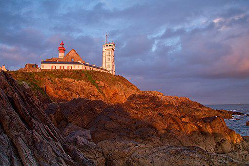 Brittany, Point St Mathieu, Atlantic Coast, France