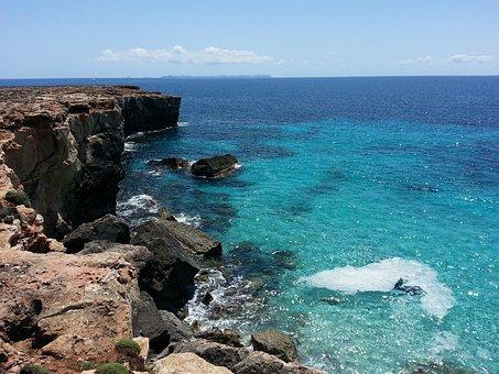Mallorca, Cala, Blue Water, Beach