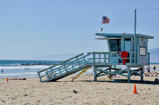 Water Rescue, Usa, America, California, Beach