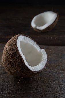 Coconut, Brown, Food, Ingredient, Nutrition, Fresh