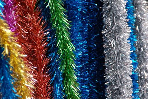 Decoration, Color, Noise, Tufts, Christmas, Tree