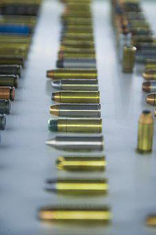 Bullet, Gold, Gun, Metal, Caliber, Weapon, Copper, Lead
