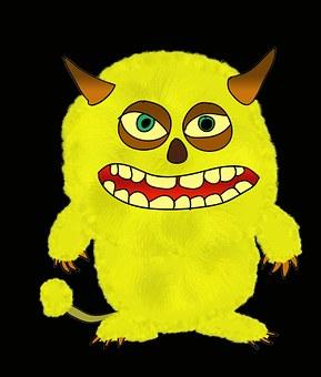 Monster, Troll, Halloween, Shudder, Figure, Devil