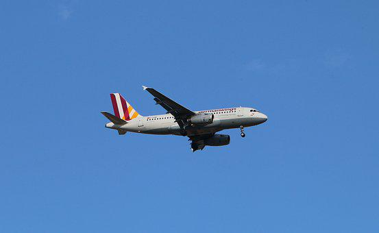 Aircraft, Flyer, Flying, Landing, Overflight, Wings