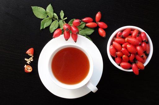 Darts, Fruits, Eglantine, Tea, Autumn, Health, Vitamins