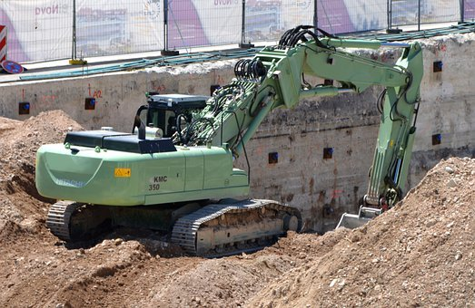 Excavators, Excavator Driver, Heavy Appliance, Mature