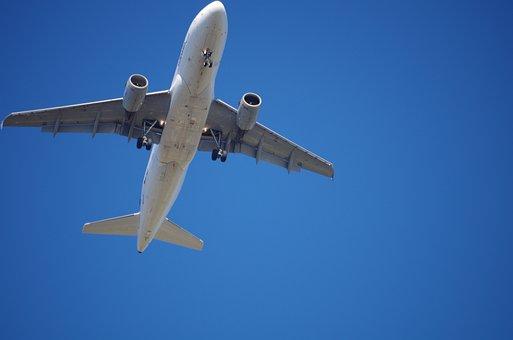 Aircraft, Landing, Holiday, Fly, Aircraft Noise