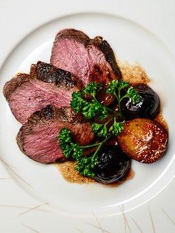 Duck Breast, Main Dish, Fig, Parsley, Kitchen, Roast