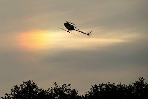 Model Helicopter, Like, Halo, Model Flight