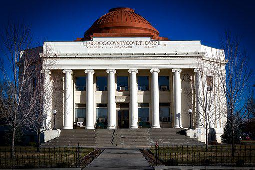 Modoc County, California, Courthouse, Old, Architecture