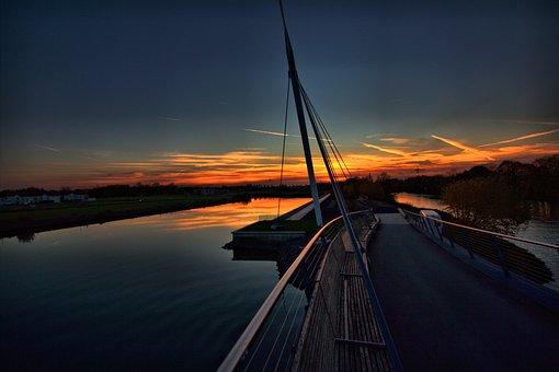 Port Bismark, Rhine Herne Canal, Gelsenkirchen