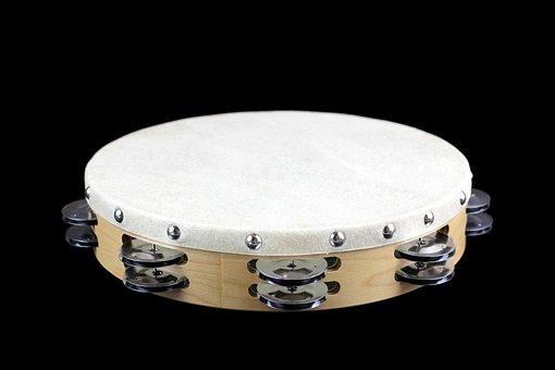Tambourine, Percussion, Music, Sound, Rhythm, Jingle