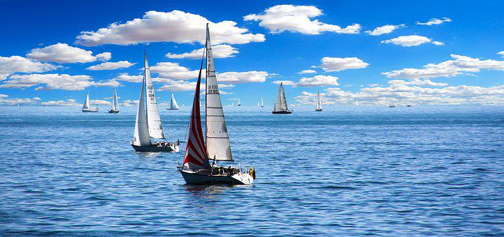 Sailing Boat, Sail, Holiday, Holidays, Summer Holiday
