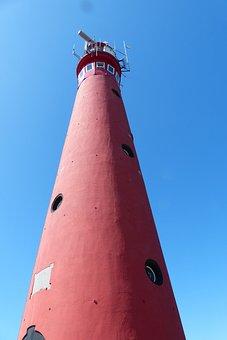 Lighthouse, Schiermonnikoog, Island, West Frisian