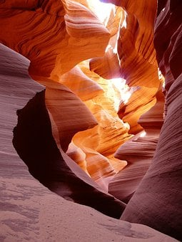 Canyon, Gorge, Antelope Canyon, Tourist Attraction