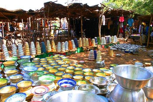 Market, Africa, Burkina Faso, Kitchen, Furnishings