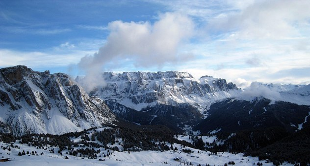 Alpine, Alpine Panorama, Mountains, Distant View, Snow