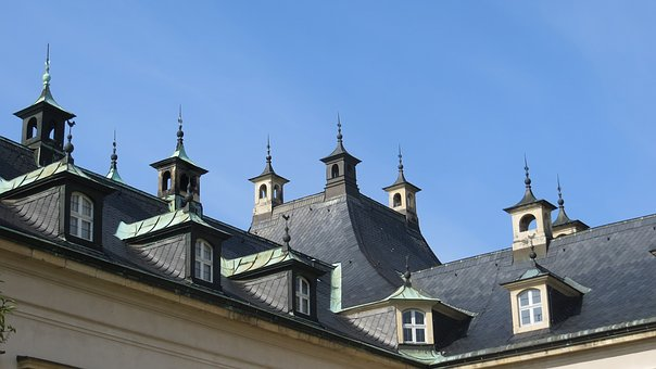 Roof, Gable, Towers, Architecture, Battlements, Window