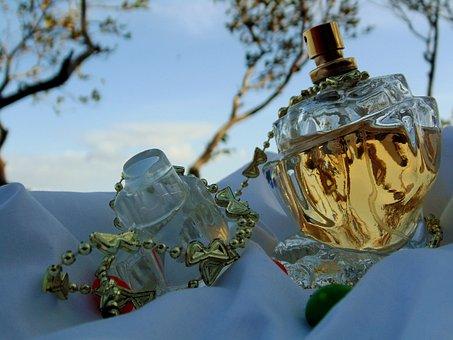 Perfume, Clouds, Sky, Blue, Landscape, Sun