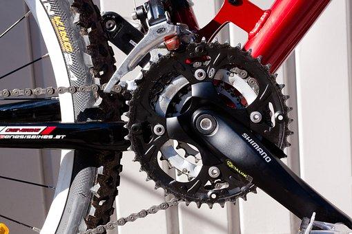 Bottom Bracket, Gear, Mountain Bike, Bike, Wheel