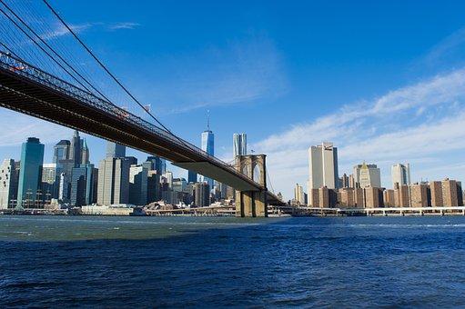 Brooklyn Bridge, Manhattan, Downtown, Brooklyn, Urban