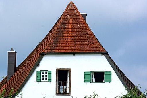 Hausgiebel, Roof Top, Gable, Home, Roof, Building, Tile