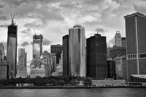 New York, City, Building, Tower, Architecture, Urban