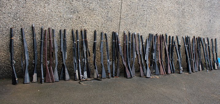 Riffles, Wooden Riffles, Gun, Long Gun, Cadet Gun