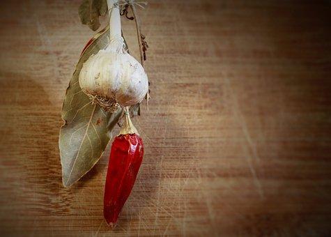 Chili, Garlic, Healthy, Vitamin, Eating, Onion, Meal