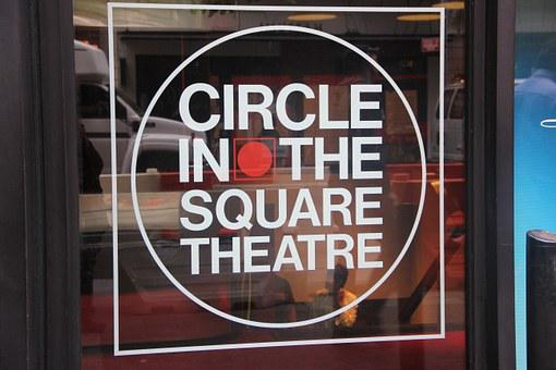 Circle In The Square, Nyc, Manhattan, Midtown, Tourist