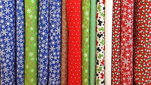 Fabric, Cloth, Textile, Clothing, Christmas, Pattern