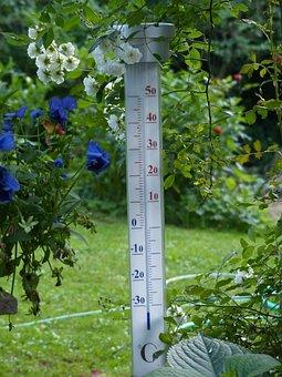 Thermometer, Degree, Temperature, Aussentempteratur