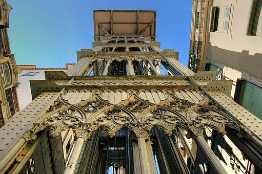 Elevador De Santa Justa, Lisbon, Elevator