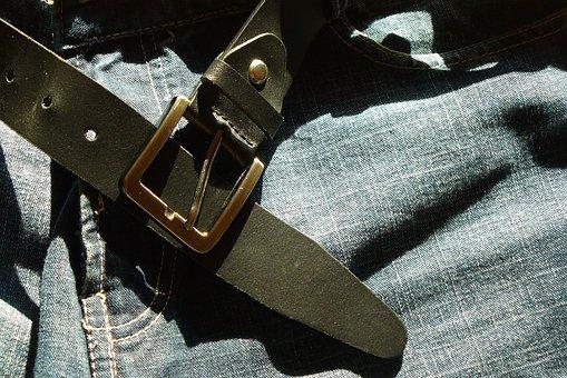 Belt, Leather, Jeans, Pants, Garment, Fashion