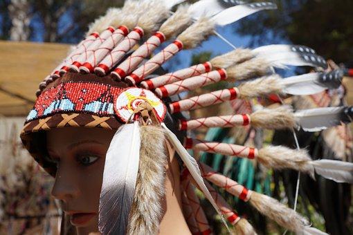 Indians, Jewellery, Feather, Hippy Market, Ibiza, Craft