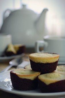 Teatime, Muffins, Brownies, Food, Homemade, Breakfast
