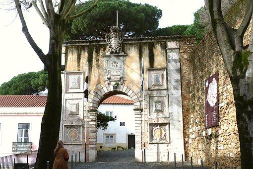 Lisbon, Goal, Castle, Castello Sao Jorge