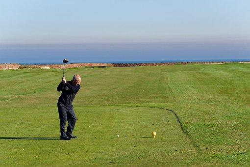 Golf Swing, Golfer, Golf, Swing, Sport, Club, Ball
