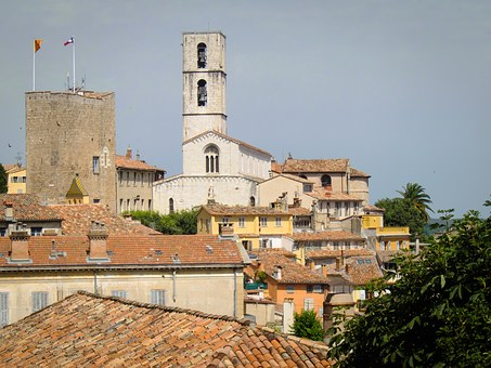 Grasse, France, Middle Ages, Village, French, Building